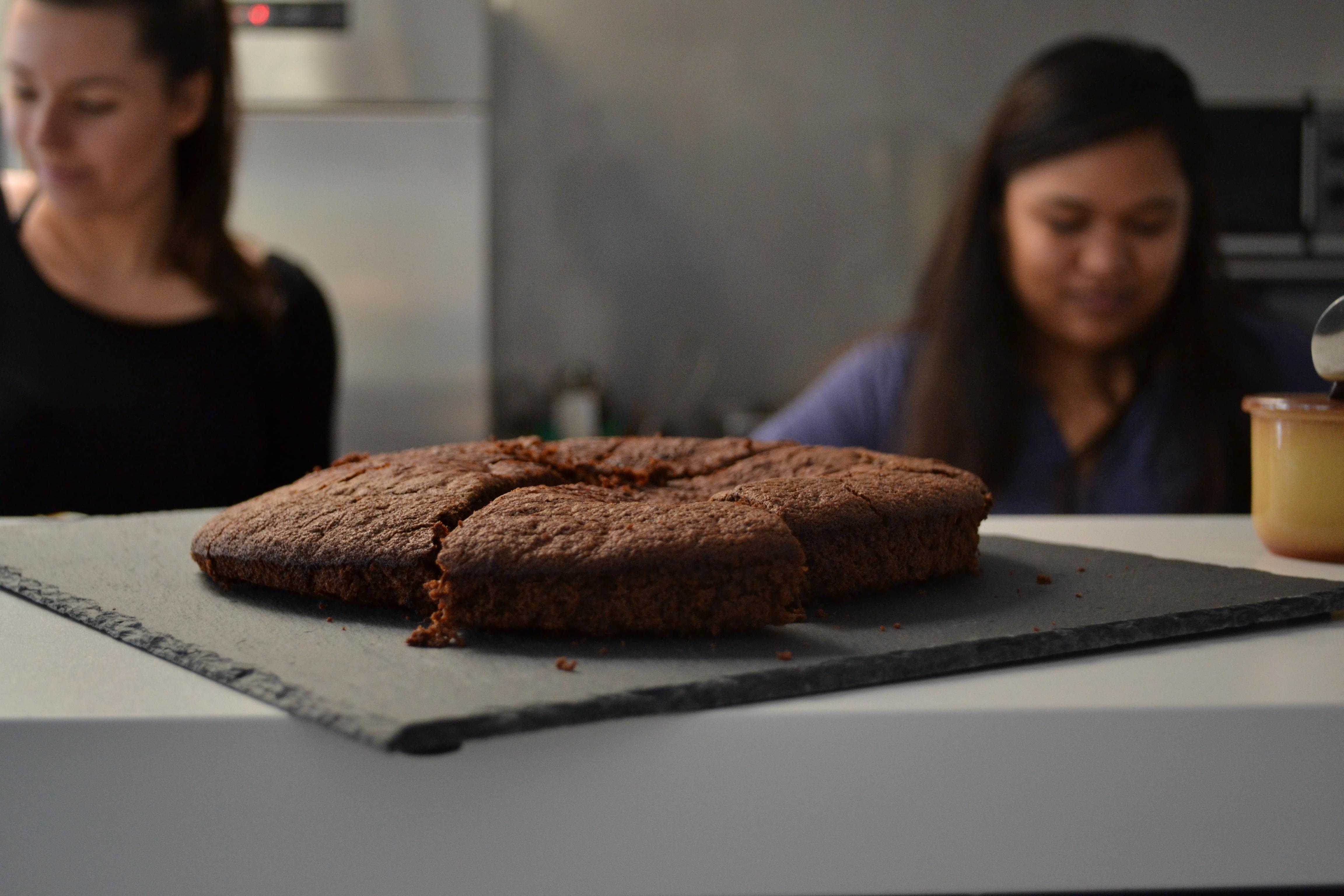 Journée Dapys_Gateau au chocolat sans sucre par Lavanilia