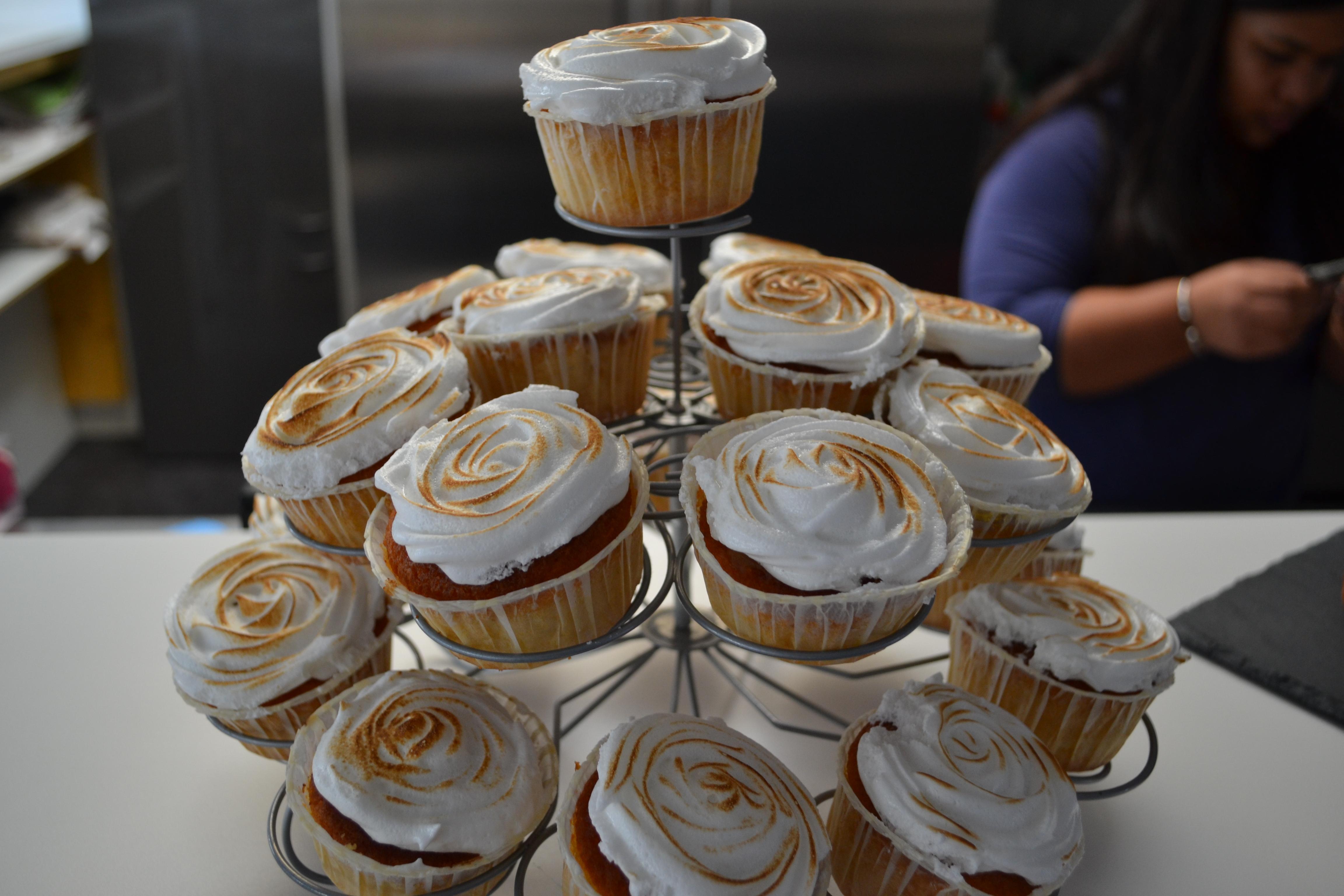 Journée Dapys_Cupcake citron meringué par Lavanilia