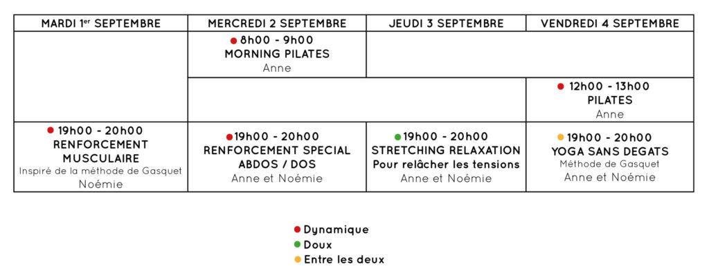 Programme Rentrée 2020 Dapys Palaiseau